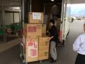 熊本県へ支援物資を送りました。4月22日