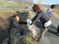 遠野長寿の郷 地域の清掃活動実施 4月1日
