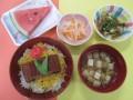 遠野長寿の郷 7月の行事食