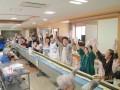 遠野長寿の郷家族会総会と18mのり巻きづくり大会が開かれました。6月23日