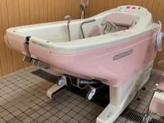 デイサービス長寿園の特殊浴槽を新しくしました。3月15日