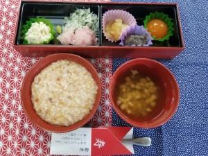 9月25日(敬老会・やわらか食)